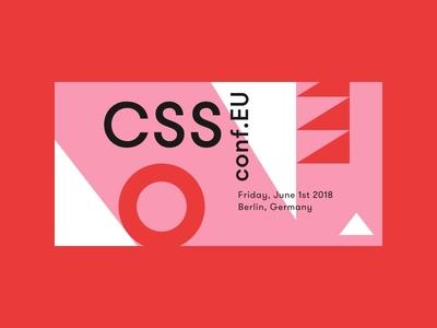 CSSconf EU 2018 shapes conf css graphics design conference