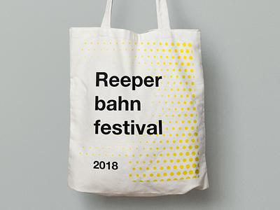 Reeperbahn Festival Motives conference bag branding festival graphic design design