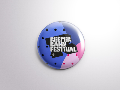 Reeperbahn Festival Motive Pin pin branding music graphic design festival design conference