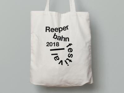 Reeperbahn Festival Motive bag branding graphic design festival design conference