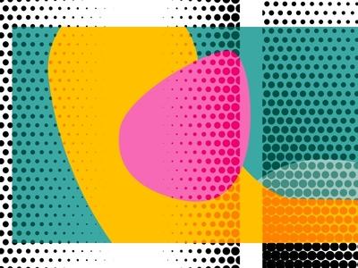 pattern Reeperbahn Festival graphic design music conference festival brand pattern