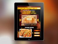 Old El Paso // Website & App Design