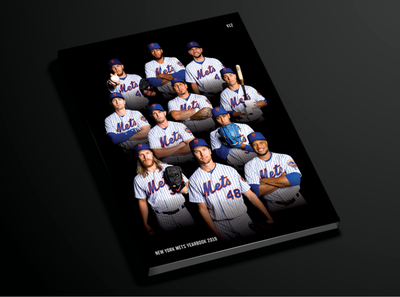 Mets 2019 Yearbook Cover yearbook photos design mets publications baseball