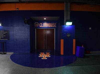 Mets Clubhouse Entrance citi field mets entrance baseball environment design environmental