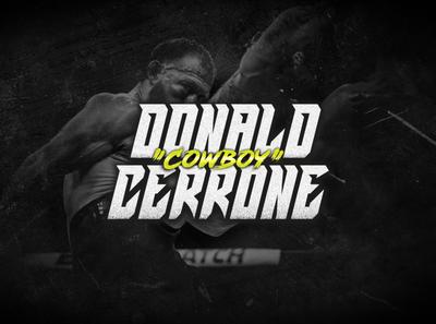 """Donald """"Cowboy"""" Cerrone gritty digital art mma sport digital"""
