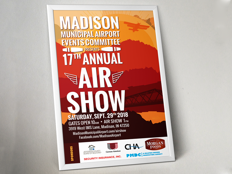 Madison Air Show 2018 #2 social media print graphic design