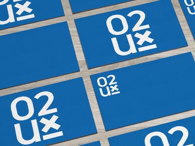 02Ux Logo logo graphic design
