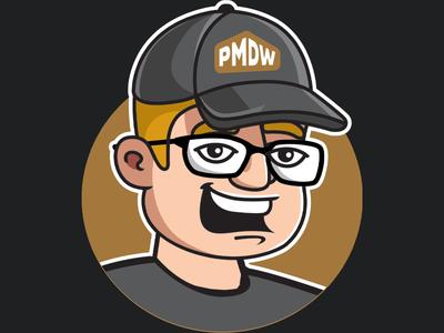 Self-Portrait branding vector illustration social media graphic design