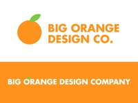 Big Orange Design Company | Logo