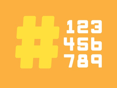 Monk Typeface | Numbers vintage typeface seinfeld monospace monk font display no numbers