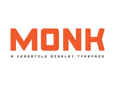Monk Typeface | It's been released!