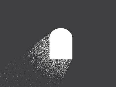 Let there be light christmas advent sermon church illustration texture window light stipple