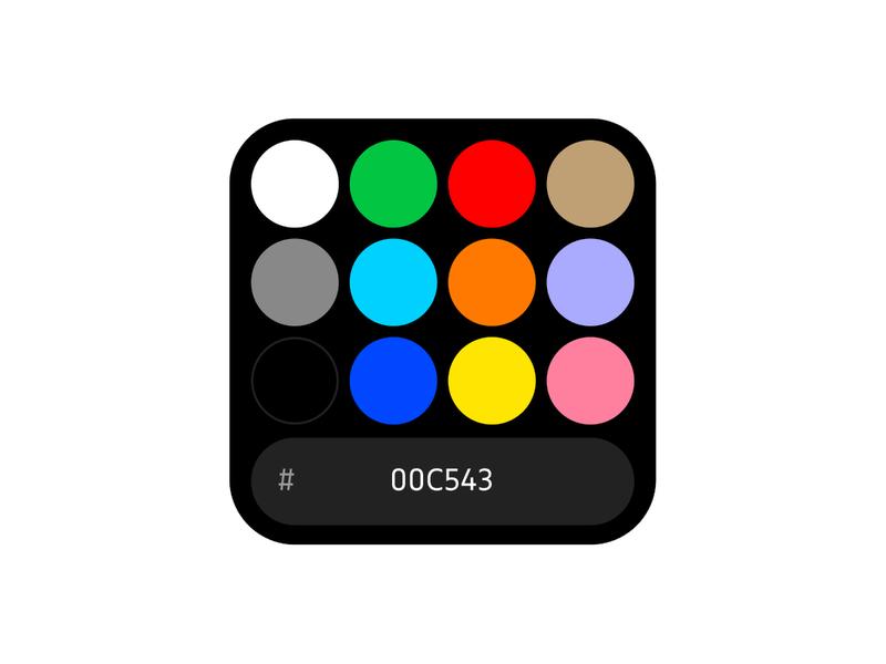 Color Picker figma wip control color ui