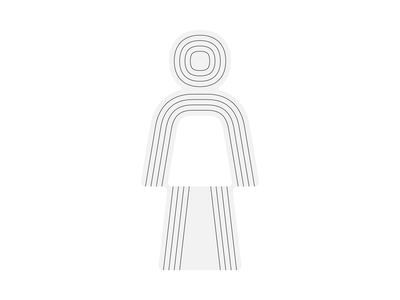 Man Pictogram wayfinding wip icon glyph pictogram