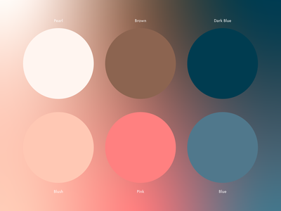 Color Palette branding gradient palette color