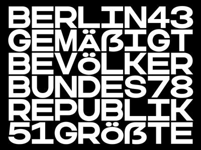 Woodkit Text Regular Solid Sharp wood block blocks alphabet font typeface wip square geometry mono monospace