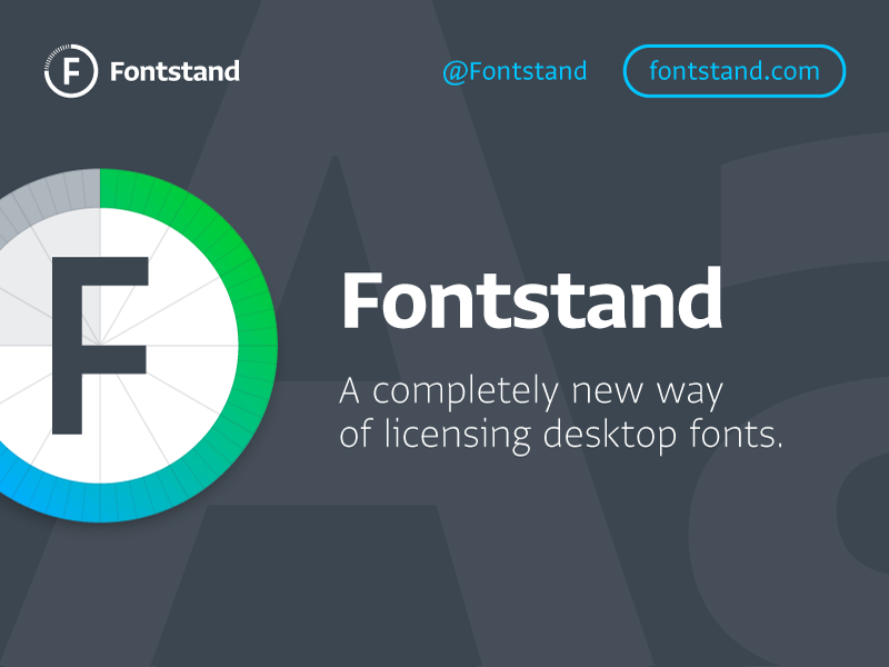 Fontstand fontstand free try type store rental fonts application osx mac ux ui
