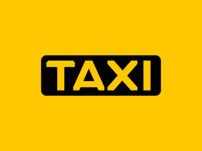 TAXI compact icon taxi bespoke type wip custom type lettering typography type logo