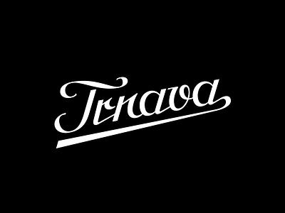 Trnava script historical typography type lettering