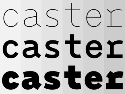 Monoxil Pro evolution monospace typeface font lettering typography type wip