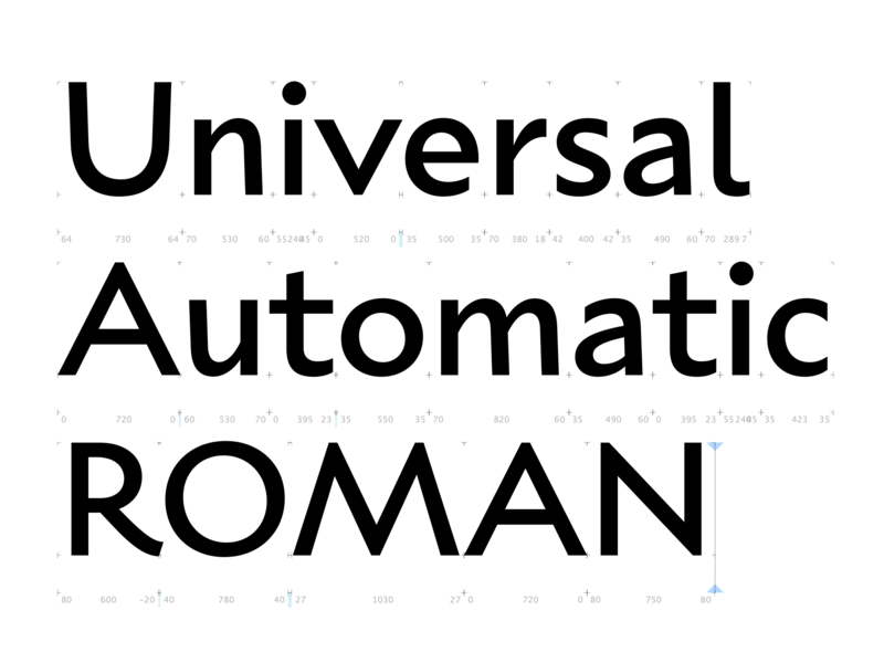 Roman experiment typedesign type design wip typography typeface type font