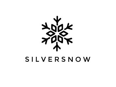 Silversnow branding vector logo typography graphic design design