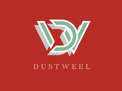 Dustweel typography illustration logo vector branding graphic design design