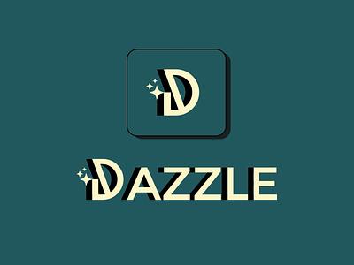 Dazzle app vector typography logo branding graphic design design