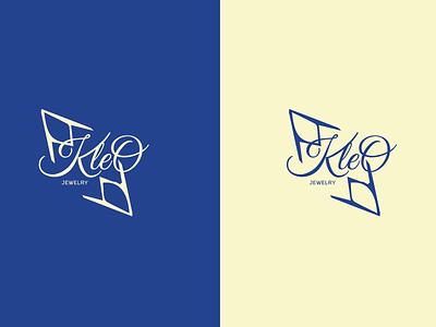Kleo illustration vector typography logo branding graphic design design