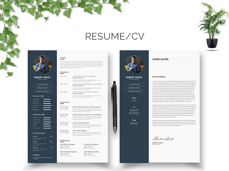 resume  cv template download by anjan rhudra paul