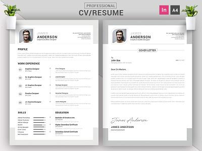 CV/Resume Concept Design || CV/Resume Indesign print indesign idml indd job download template freebie free cv resume design corporate creative business