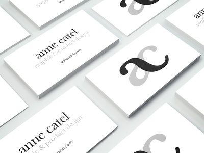 Personal business card branding personal card business