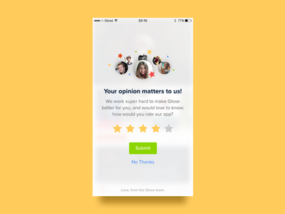 Rate us! play google store app reader ebook glose rating us rate