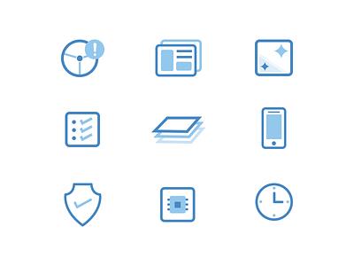 Iconography concepts illustration iconography marketing icons keeptruckin