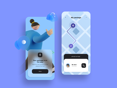 Delivery mobile app dribbble figmadesign uiux delivery app delivery truck delivery status delivery service mobile interface ux ui app mobile app design mobile app delivery