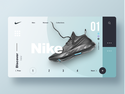 Nike nike air nike ui ux design web