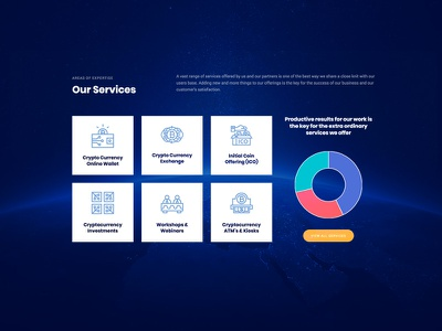 Services web ui bitcoin cryptocurrency web design services