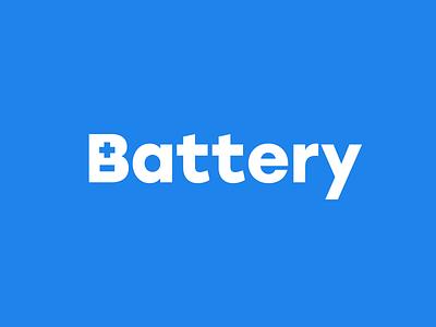 Battery battery b -  - clever negative space monogram letterform letter letters font type branding brand identity logo logotype mark
