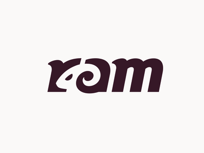 Ram logo animal ram aries branding brand identity logo logotype mark