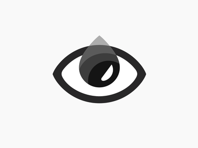 Eye tear illustration eye tear cry branding brand identity logo logotype mark