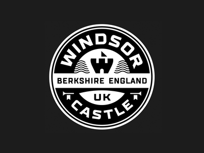 W badge logo badge emblem w castle fortress branding brand identity logo logotype mark