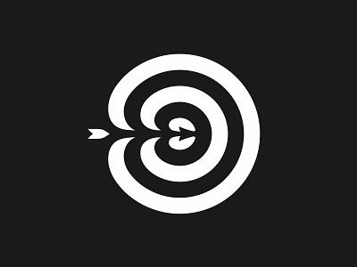Target target arrow black white bw shape geometry geometric identity branding logotype logo