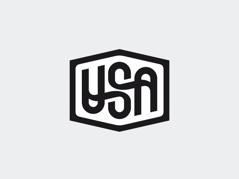 Usa ambigram letters ambigram us usa mark logotype logo