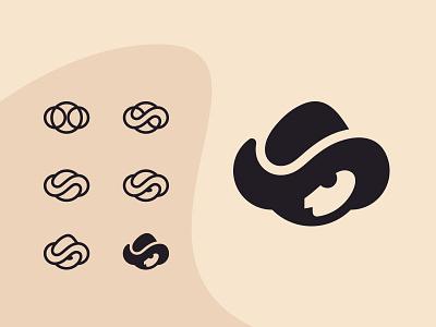 Tiny ranger tiny ranger hat man bw white black shape mark logotype logo design logos