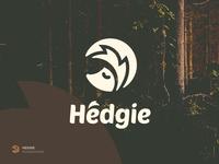 Hedgie monochrome