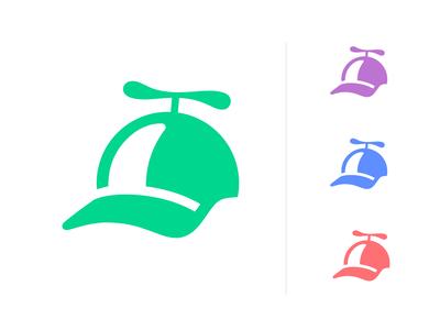 Cap logo mark