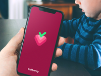 Kidberry splash screen