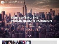 NYU Public Health Style Tile option