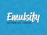 Emulsify // Drupal 8 + Pattern Lab