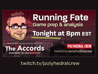 Running Fate, a streaming show about GMing the Fate RPG